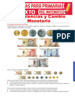 Equivalencias-y-Cambio-Monetario-para-Sexto-de-Primaria