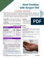 Hand Sanitizer with Acrypol 956 Leaflet.pdf