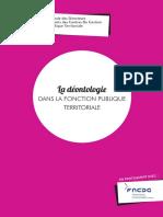 GUIDE ANDCDG DE LA DEONTOLOGIE