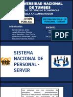 GRUPO N°01 - SISTEMA NACIONAL DE PERSONAL - SERVIR