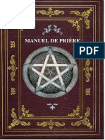 Manuel de prière