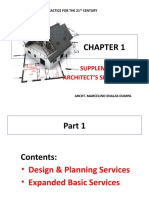 CHAP 1 SUPPLEMENTAL ARCH SERVICES