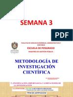 semana 3 metodologia