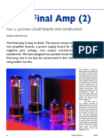 Audio - Tubes - Valve Final Amp 2