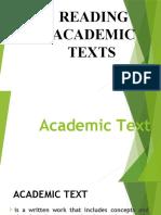 Reading Academic Text Presentation FINAL