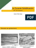 4. Agrietamiento durante solidificación