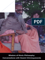 Wisdom of Hindu Philosophy Conversations with Swami Chinmayanda Nancy Patchen Freeman