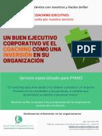 Coaching Ejecutivo para PYMES