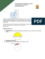 Guía aprendizaje Circulo