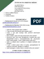 CONFLITOS ÉTNICOS NO ORIENTE MÉDIO.doc