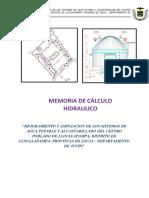 7.1.-MEMORIA DE CALCULO HIDRAULICO SICAYA