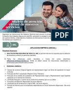 MANUAL REQUISITOS AFILIACION EMPRESA NUEVA