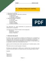 Unidad 5 - Estructuras de Control