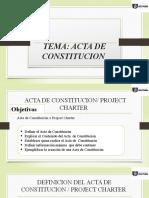 4. Conceptos y Desarrollo del Acta de Constitucion