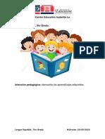 Actividad 28, Lengua Española