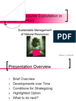 D. Lachman - Natural Resource exploitation in the 21st century SMNR