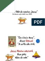 Cartaz - Hino - Samuel Fala Do Menino Jesus