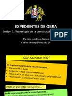 SESION 1 EXPEDIENTES DE OBRA 2020-1