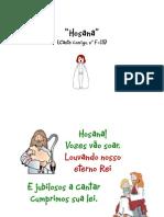 Cartaz - Hino - Hosana