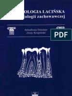 Terminologia Lacinska w Stomatologii Zachowawczej