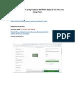 Referencia para la programación del FPGA Basys 2 con Xilinx ISE Design Tools