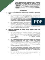 MODELO DE CONTRATO PARA CHOFER DE CARGA