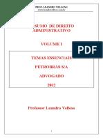 RESUMO DE DIREITO ADMINISTRATIVO CONCURSO PETROBRAS