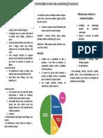 Orientação esteatose hepática