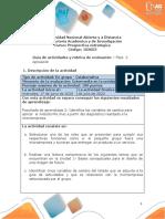 Guia de actividades y Rúbrica de evaluación - Unidad 1 - Bases conceptuales para el diseño de futuro - Fase 2 - Aplicación