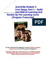 07 - Reviewing Your Sarge- Part 1
