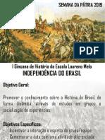 Gincana de História - Semana da Pátria 2019