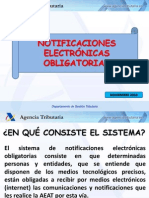 Presentación del sistema de notificaciones electrónicas obligatorias NEO