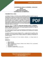 INFORMACION CURSO   VENTILACION MECANICA  VIRTUAL 2020 ECUADOR