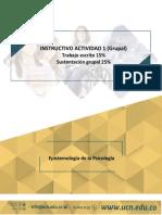 Actividad 1 Epistemología de la Psicología B3-2 2020-1