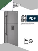 INSTRUCCIONES NEVERA HACEB_ MANUAL DE USUARIO.pdf