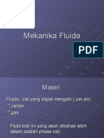 Bab 6 Mekanika Fluida