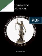 CODIGO ORGANICO INTEGRAL PENAL  COIP Regalo - Estudiantes de Derecho y Asociados