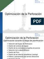 Capitulo 9 - Optimización de la Perforación