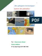 critique de la theorie des plaques tectonique AX462.doc