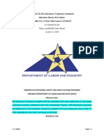 Covid-19 - Emergency Temporary Standard - For Public Distribution - Final 7.17.2020