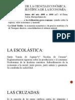 EVOLUCIÓN DE LA CIENCIA ECONÓMICA