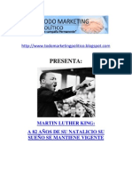 Martin Luther King A 82 años de su natalicio su sueño se mantiene vigente
