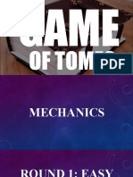 Game of Tomes - Powerpoint