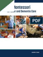 Montessori for Elder and Dementia Care (EXCERPT)