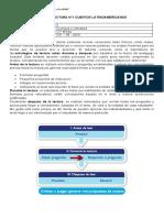 Guía Proceso de Lectura - Cuentos Latinoamericanos - 2º medio
