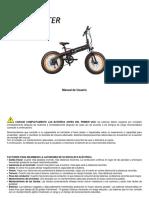 Manual e-Bike Smascooter