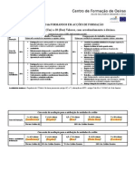 AVALIACAO de FORMANDOS EM ACCOES DE FORMACAO Aprovado