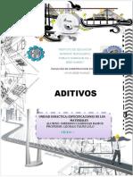 TRABAJO MONOGRAFICO ADITIVOS  20 -07-2020