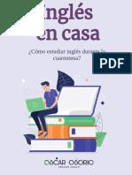 Aprende Inglés en Cuarentena_Oscar Osorio
