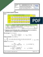 Laboratorio de hidráulica flujo gradualmente variado- cálculos